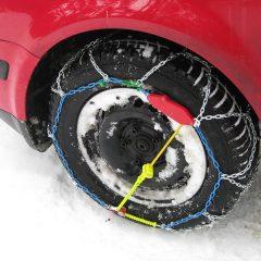 Sneeuwkettingen tijdens uw skivakantie